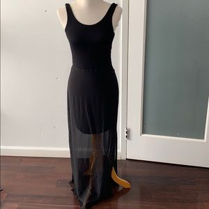 Vince Camuto sheer dress